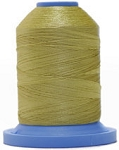 Robison Anton Super Brite Polyester #122 Embroidery Thread, 5000M Cone, Color 9118, MEILEE GREEN